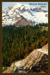 Mount Rainier Postcard 1915 - 12