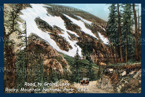 Rocky Mountain Postcard 1925 - 4