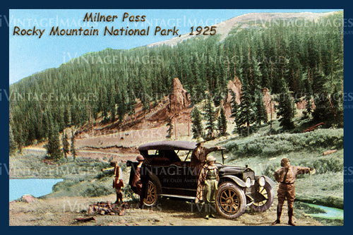 Rocky Mountain Postcard 1925 - 5