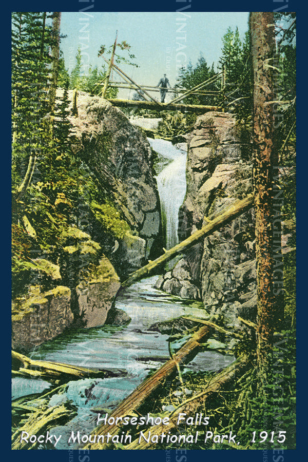 Rocky Mountain Postcard 1915 - 7