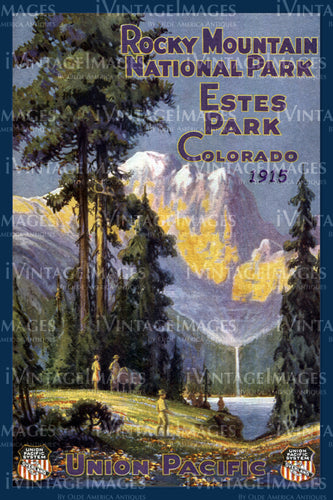 Rocky Mountain Poster 1915 - 9