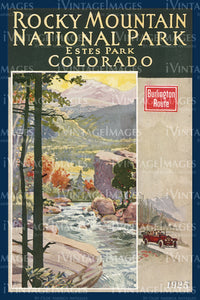 Rocky Mountain Poster 1925 - 10