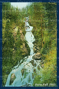 Rocky Mountain Postcard 1915 - 18