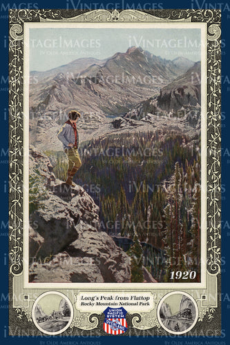 Rocky Mountain Poster 1920 - 19