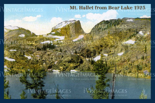 Rocky Mountain Postcard 1925 - 23