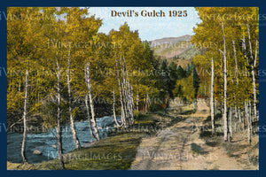 Rocky Mountain Postcard 1925 - 27