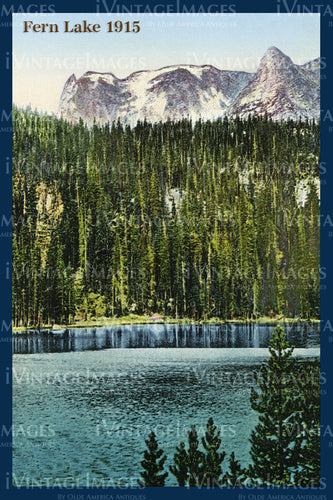 Rocky Mountain Postcard 1915 - 31