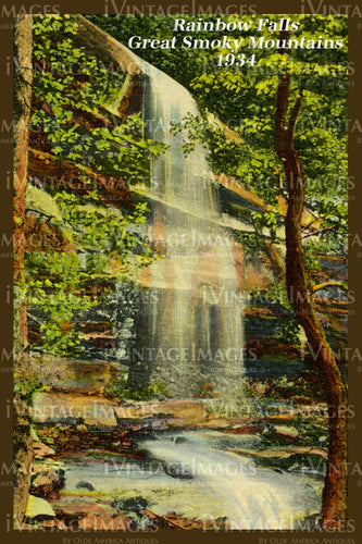 Great Smoky Mountains Postcard 1934 - 02