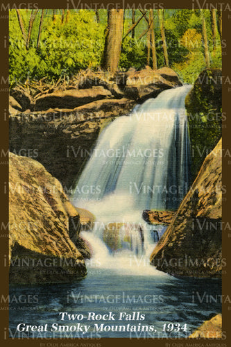 Great Smoky Mountains Postcard 1934 - 10