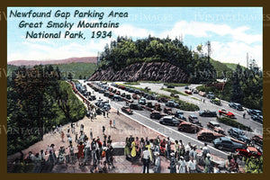Great Smoky Mountains Postcard 1934 - 14