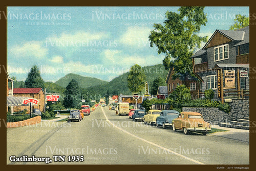 Great Smoky Mountains Postcard 1930 - 19