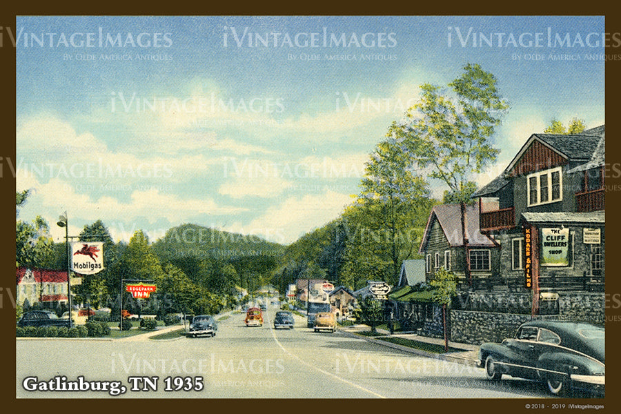 Great Smoky Mountains Postcard 1930 - 20