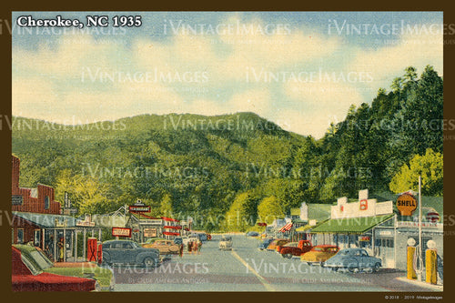 Great Smoky Mountains Postcard 1930 - 22