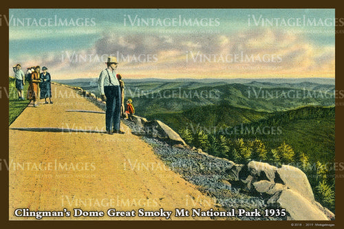 Great Smoky Mountains Postcard 1930 - 27