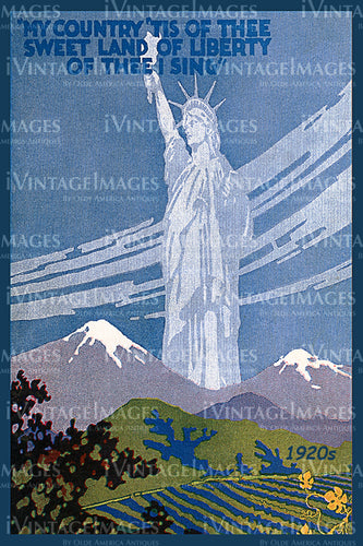 Statue of Liberty Print 1920 - 02