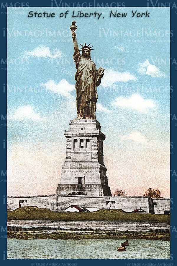 Statue of Liberty Postcard 1910 - 05