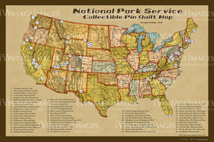 National Park Service Map - 001