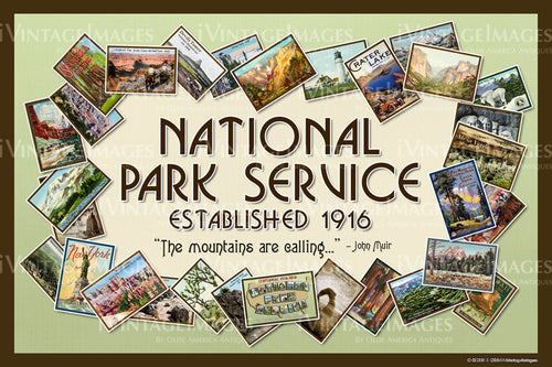 National Park Service Wreath - 003