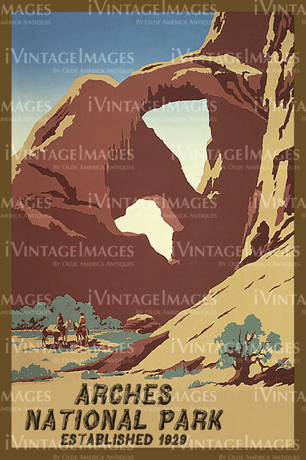 Arches Poster 1934 - 2