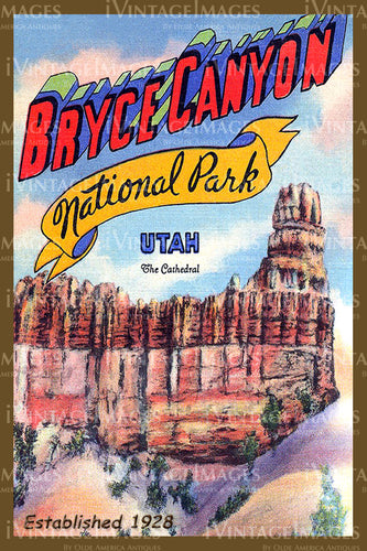 Bryce Poster 1928 - 4
