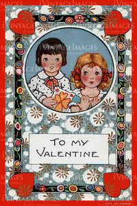 Arts and Craft Valentine 1925 - 08