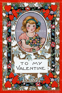 Arts and Craft Valentine 1925 - 10
