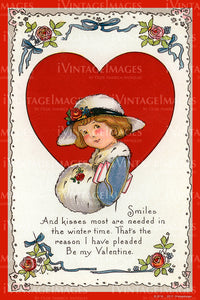Arts and Craft Valentine 1925 - 14