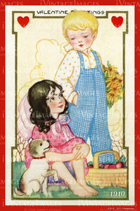Arts and Craft Valentine 1910 - 25