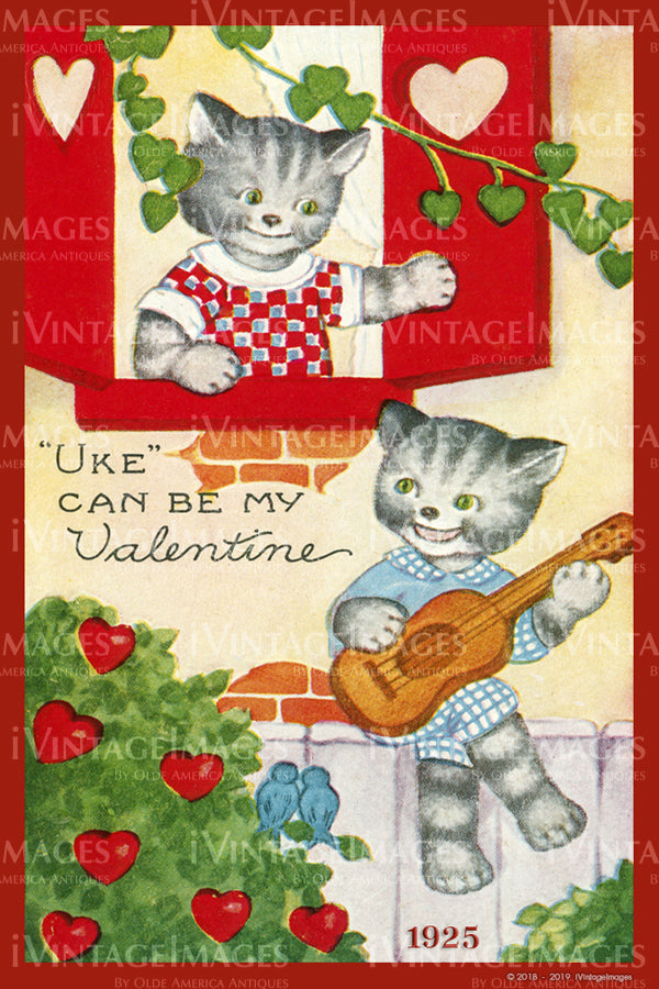 Arts and Craft Valentine 1925 - 40