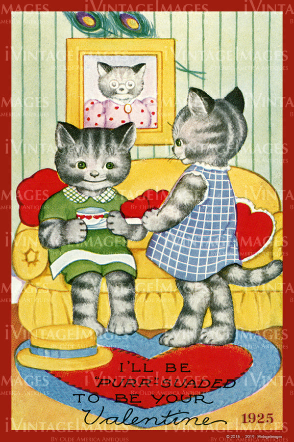 Arts and Craft Valentine 1925 - 42