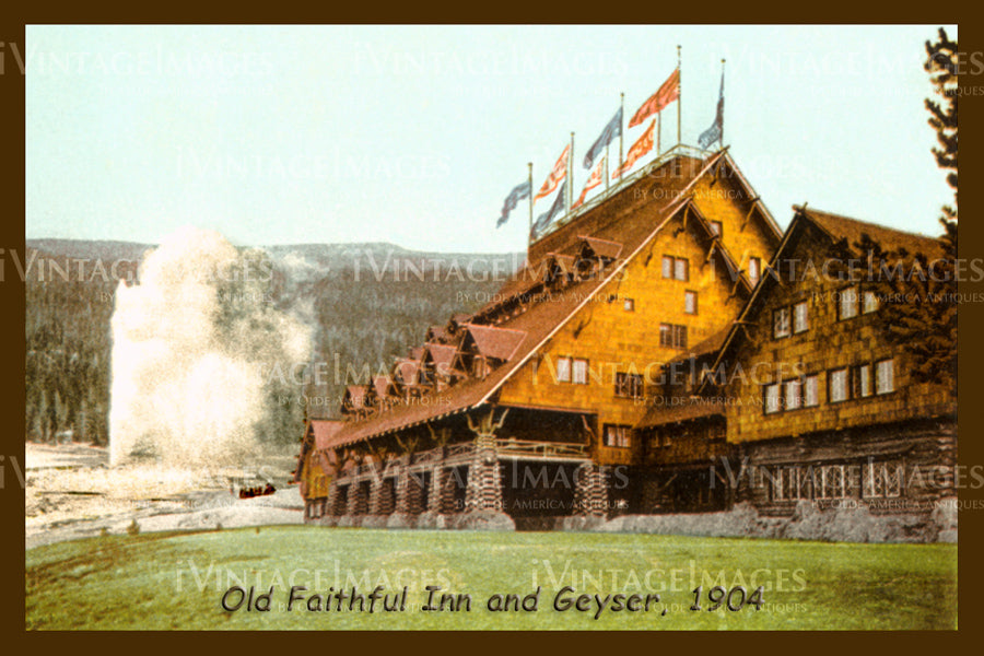 Yellowstone Postcard 1904 - 4