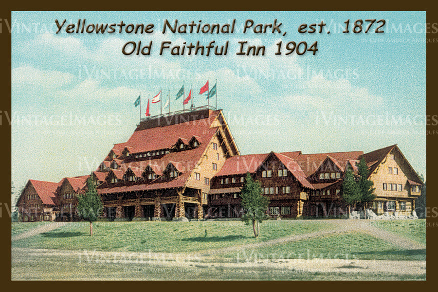 Yellowstone Postcard 1904 - 17