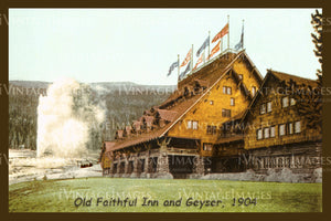 Yellowstone Postcard 1904 - 18