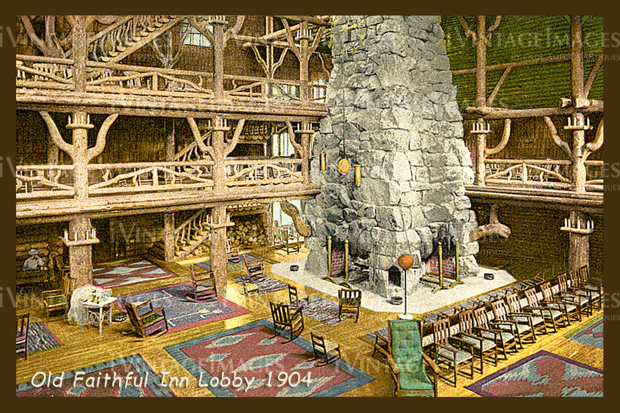 Yellowstone Postcard 1904 - 19