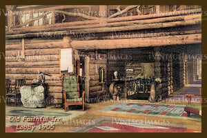 Yellowstone Postcard 1905 - 23
