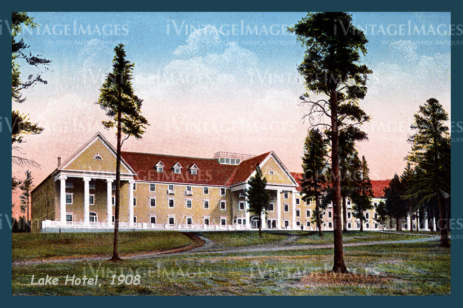 Yellowstone Postcard 1908 - 35