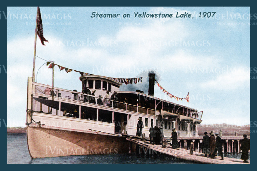 Yellowstone Postcard 1907 - 38
