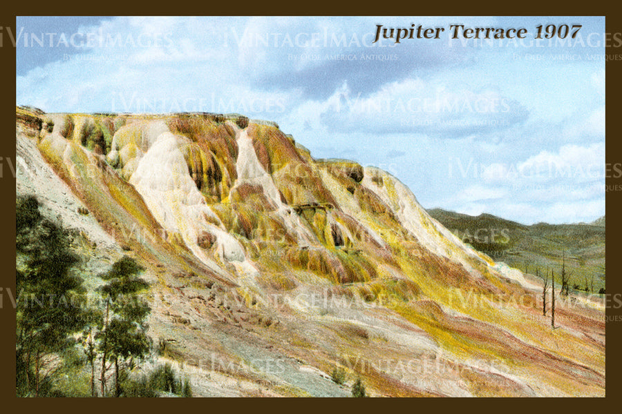 Yellowstone Postcard 1907 - 41