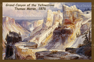 Yellowstone Painting 1876 - 51