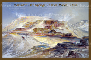 Yellowstone Painting 1876 - 52