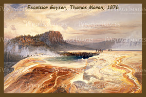 Yellowstone Painting 1876 - 53