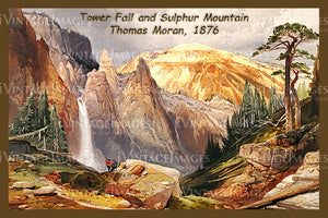 Yellowstone Painting 1876 - 56