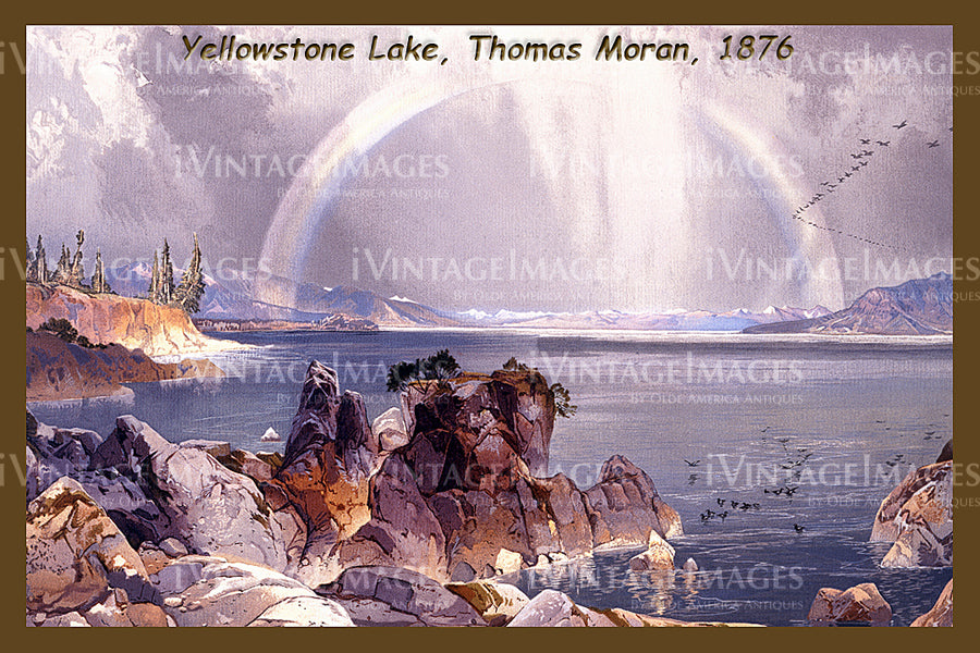 Yellowstone Painting 1876 - 58