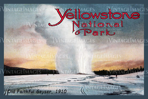 Yellowstone Postcard 1910 - 59