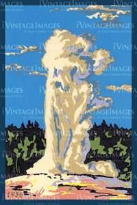Yellowstone Serigraph 1936 - 80