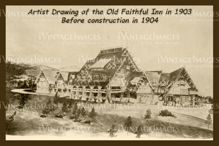 Yellowstone Artist Rendition 1903 - 89