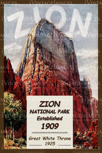 Zion Poster 1925 - 9