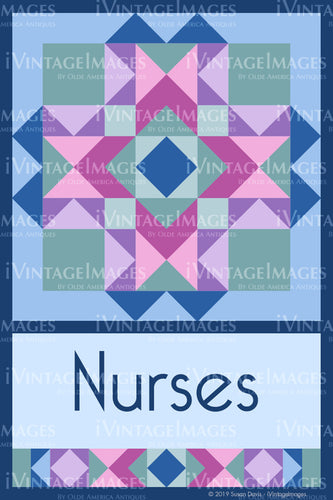 Nurses Design by Susan Davis - 1