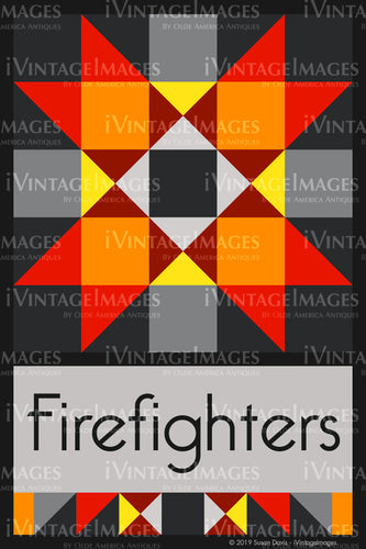 Firefighters Design by Susan Davis - 3