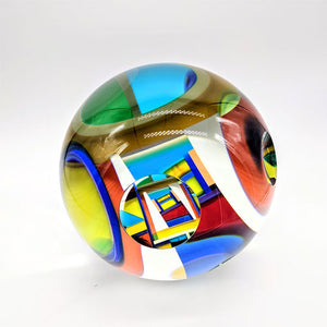 David Huchthausen glass art